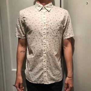 ALL SAINTS patterned short sleeve shirt